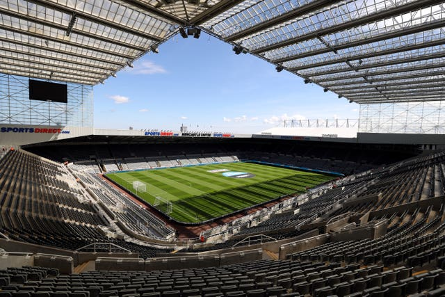 Newcastle may have to play some matches away from St James' Park