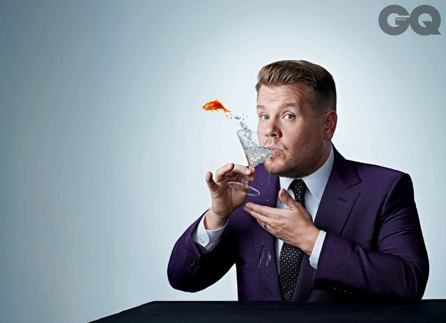 Corden on September GQ Cover
