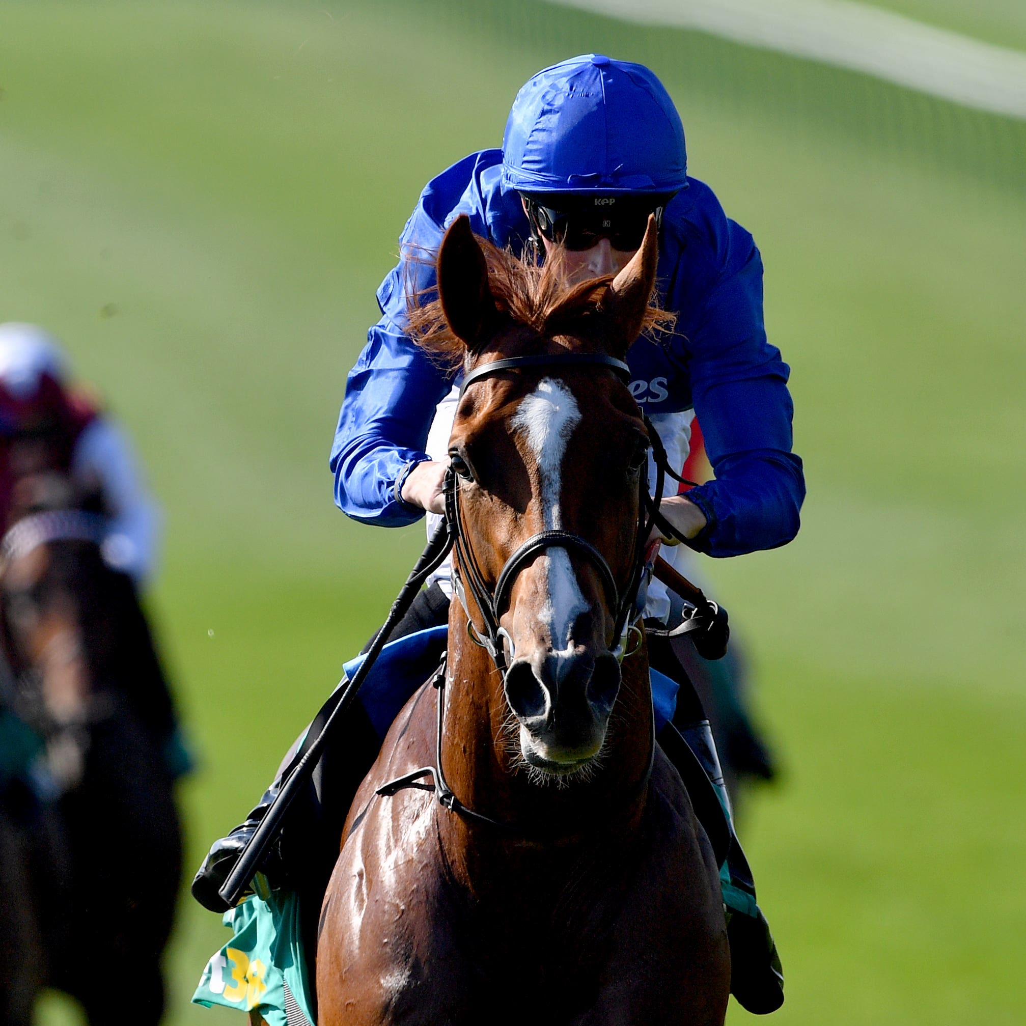 Masar is on course for the Derby (Joe Giddens/PA)