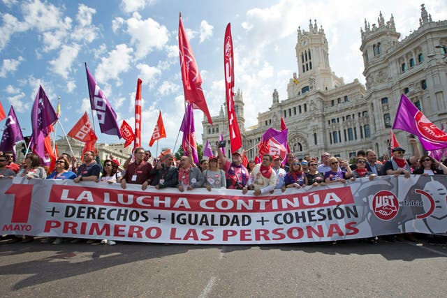 Spain May Day