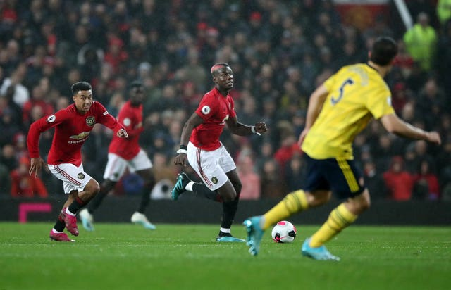 Paul Pogba last featured for United against Arsenal on September 30
