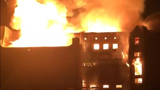 Mackintosh Building fire
