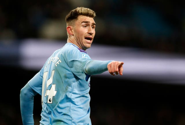 City badly missed Aymeric Laporte through injury