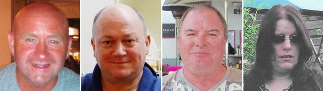 Shetland helicopter crash victims