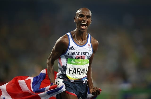 Mo Farah will return to the track for the 2020 Olympic Games