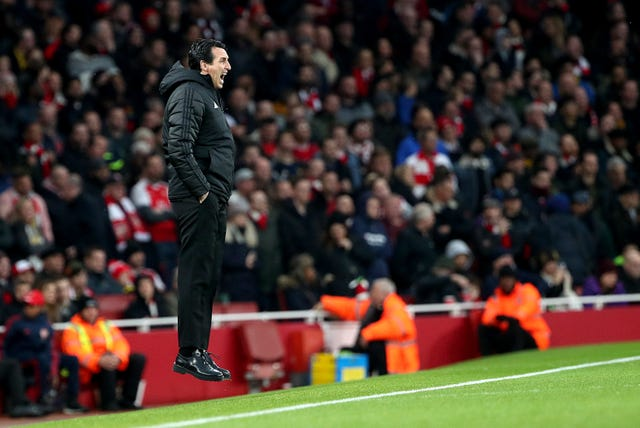 Arsenal manager Unai Emery is under pressure