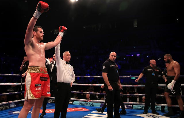 David Price was declared the winner in front of his home crowd at the M&S Bank Arena in Liverpool
