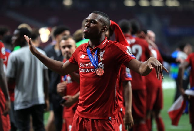 Daniel Sturridge played and helped Liverpool win the Champions League last season