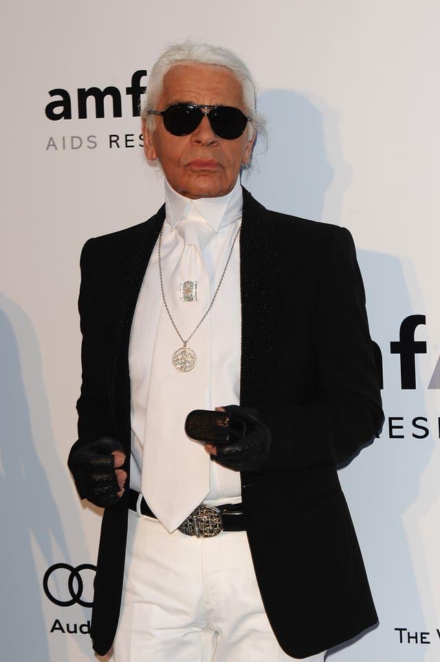 9381027d30a7 Karl Lagerfeld in 2010 (Ian West PA)