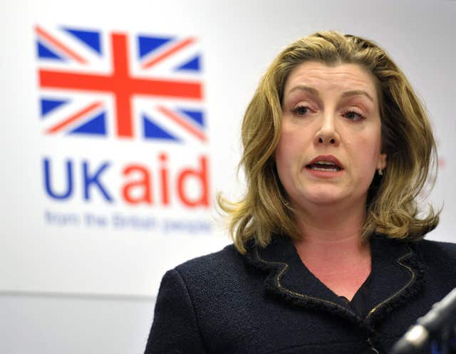 Penny Mordaunt met with Oxfam bosses on Monday following lurid allegations involving the charity
