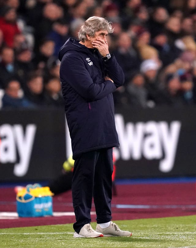 Manuel Pellegrini was sacked after Saturday's defeat to Leicester