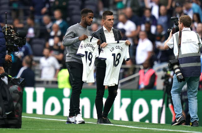 Ryan Sessegnon and Giovani Lo Celso joined Tottenham in the summer