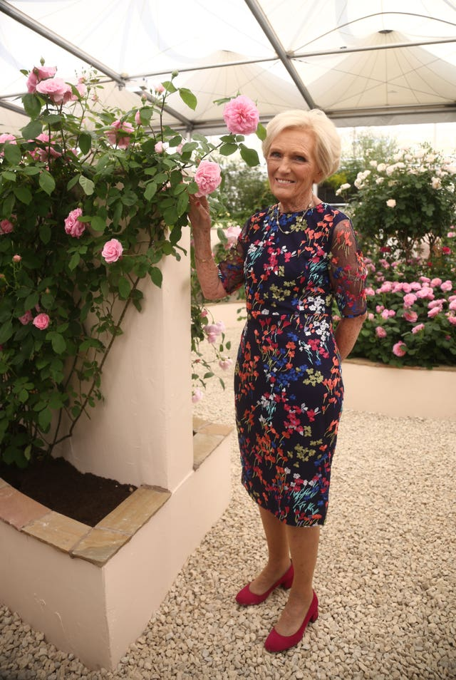 Great British Bake Off judge Mary Berry