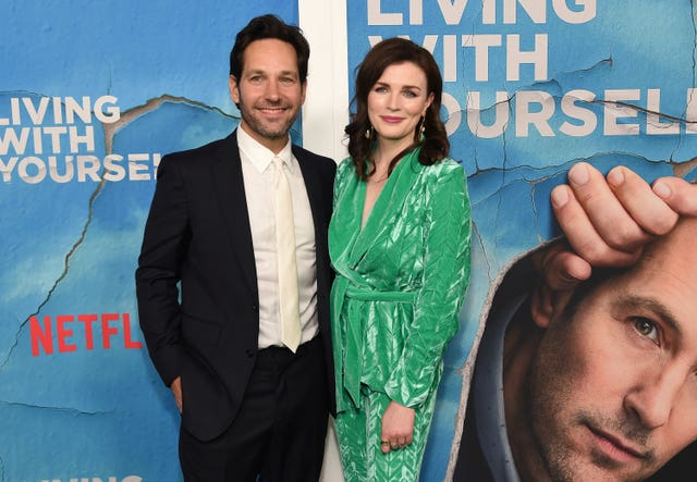 Paul Rudd, left, and Aisling Bea