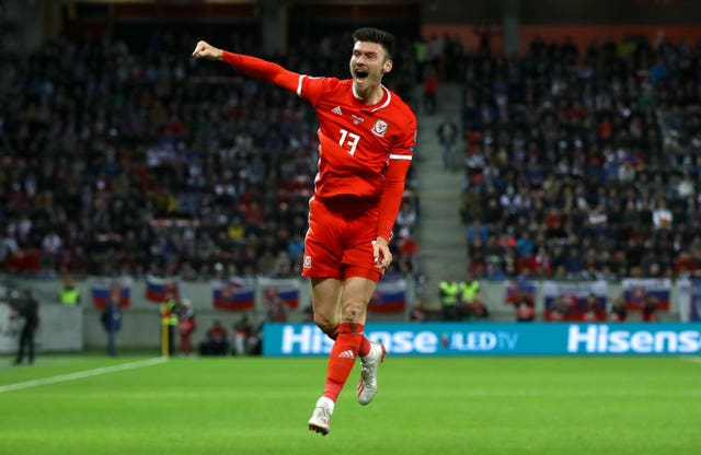 Kieffer Moore scored for Wales against Slovakia