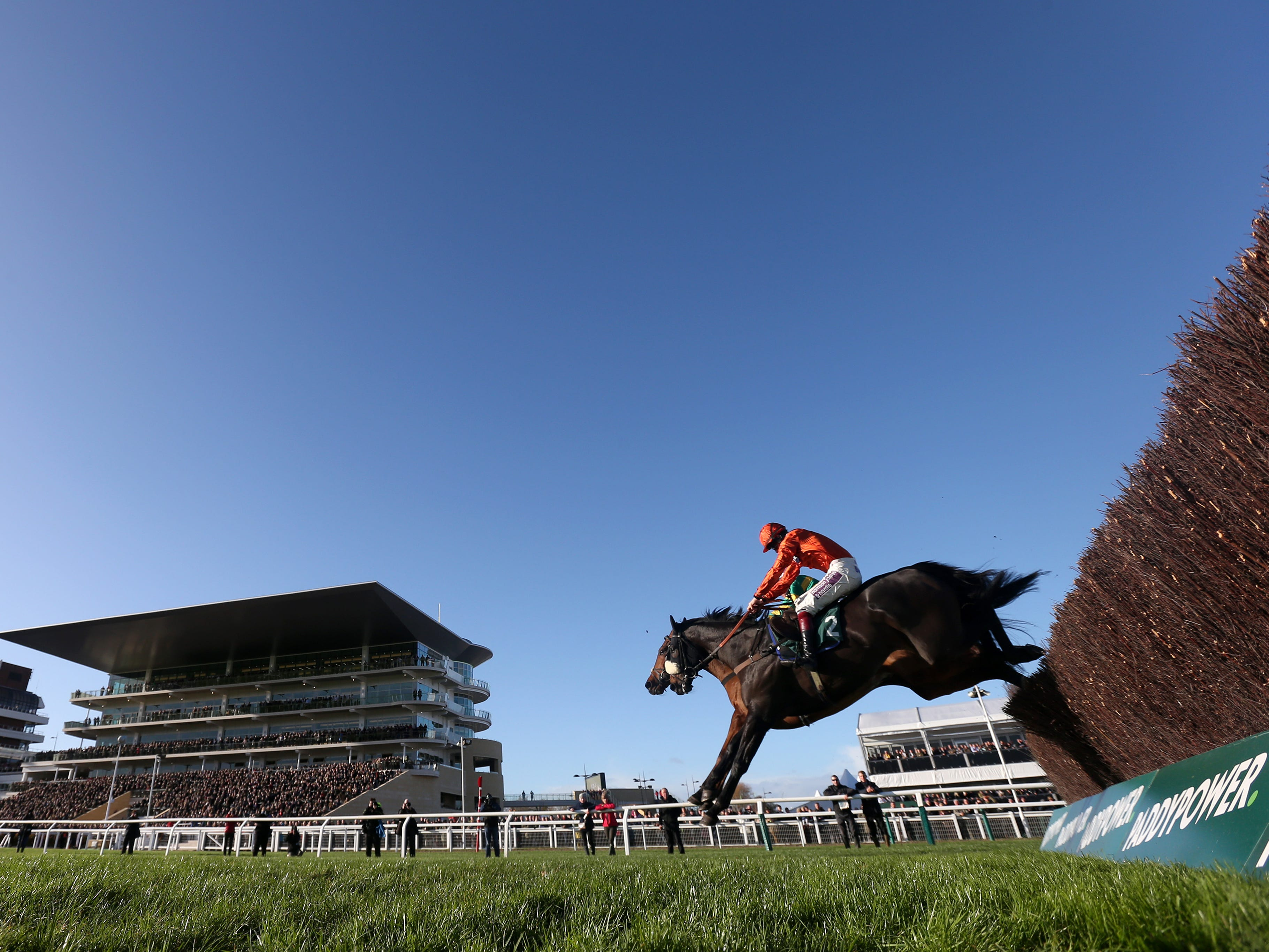 As De Mee is all set for the Becher Chase at Aintree on Saturday (David Davies/PA)