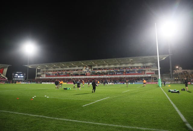 The Kingspan Stadium home of Ulster Rugby (Brian Lawless/PA)