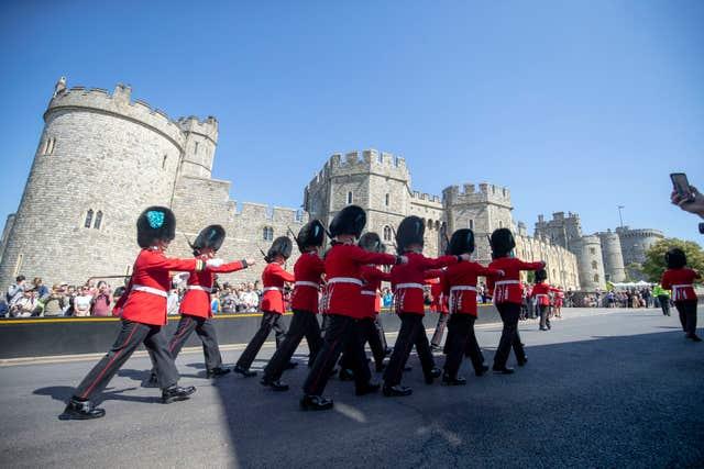 Windsor Castle, in Berkshire, will be bathed in sunshine for the royal wedding this weekend, according to the Met Office (Steve Parsons/PA)