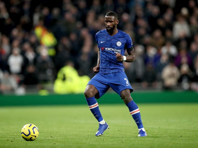 Antonio Rudiger played his part in the 2-0 victory last month