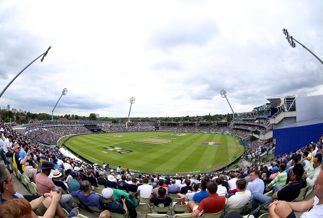 England were comfortable winners at Edgbaston