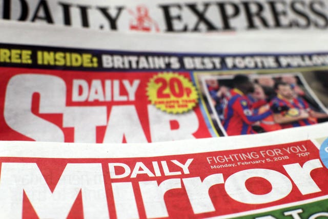 Trinity Mirror buys Express newspapers