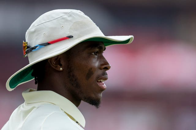 Jofra Archer is struggling with an elbow problem