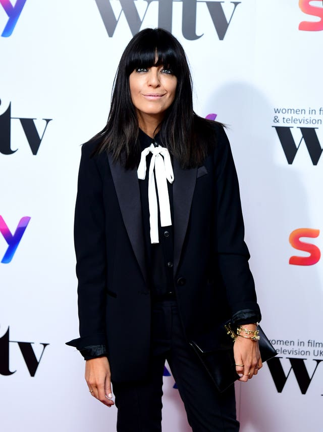 Claudia Winkleman attending the Women in Film and TV Awards 2019 at the Hilton, Park Lane, London
