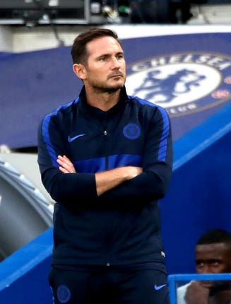 Frank Lampard is still waiting for his first home Premier League win as Chelsea manager