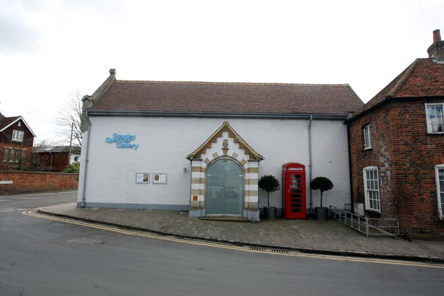 The Stanley Spencer Gallery in Cookham in Berkshire