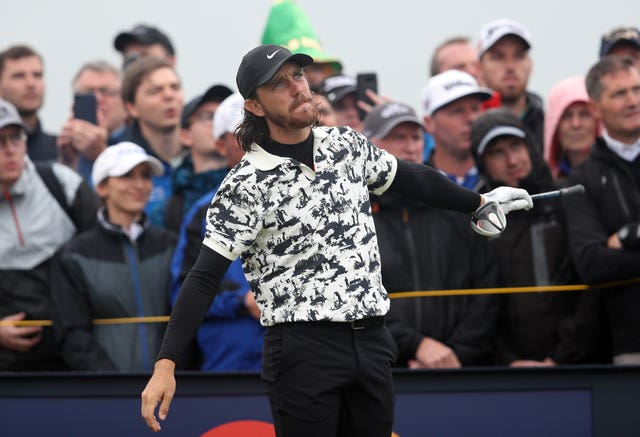 Fleetwood wore some eye-catching shirts throughout the tournament
