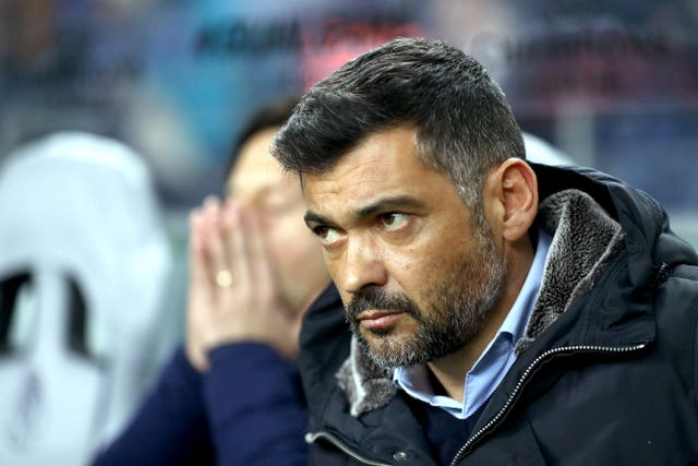 Sergio Conceicao felt his side let the game get away from them after the break