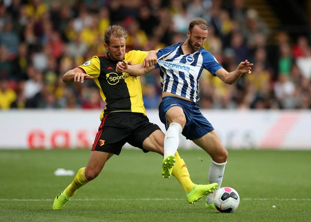 Glenn Murray, right, is not a fan of the face mask proposal