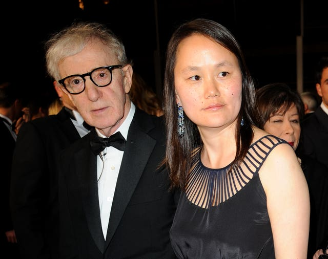 Woody Allen and his wife Soon Yi