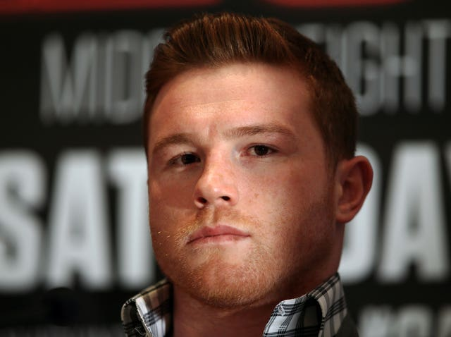 Saul Alvarez, pictured, beat Callum Smith's older brother Liam four years ago (John Walton/PA)