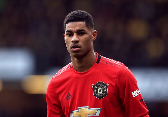 Marcus Rashford File Photo