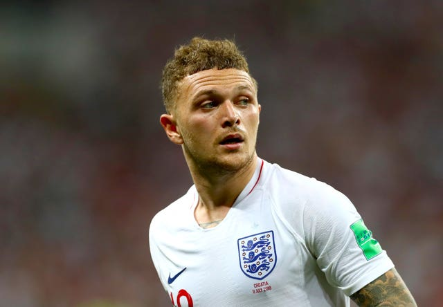 England may have to do without Kieran Trippier in their upcoming internationals