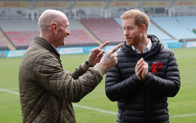 Harry and Gareth Thomas