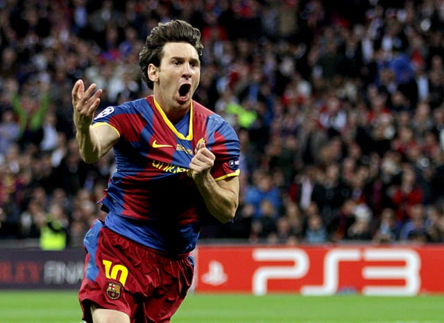 Soccer – UEFA Champions League – Final – Barcelona v Manchester United – Wembley Stadium