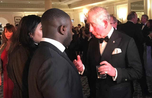 Prince of Wales at Invest in Futures Reception