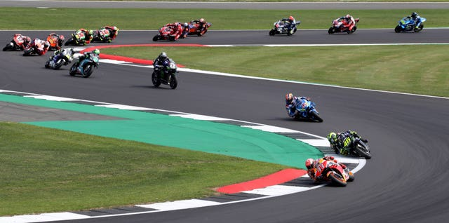The Moto GP at Silverstone is also under threat.