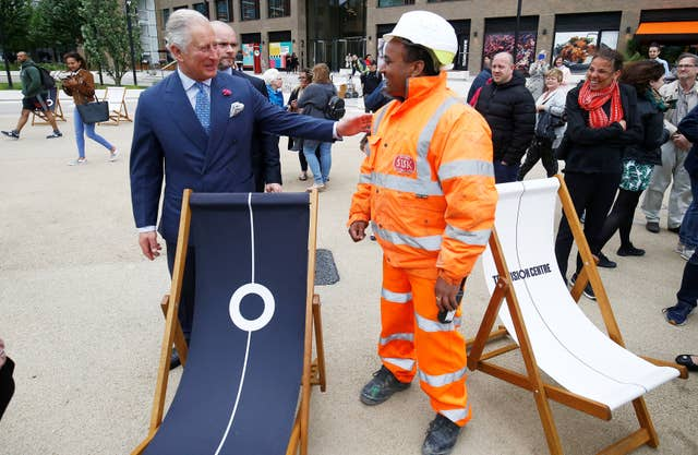 Charles And Camilla Dabble In Virtual Reality On London