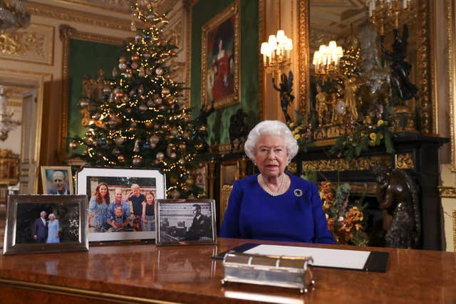 Like the rest of the nation, the Queen and her relatives will have to carefully choose who to have in their Christmas bubble (Steve Parsons/PA)