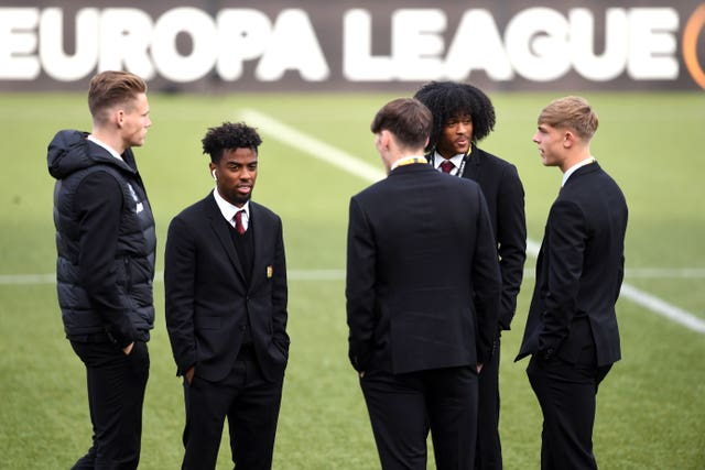 Angel Gomes and Tahith Chong played for the development side in Belgium rather than the first-team