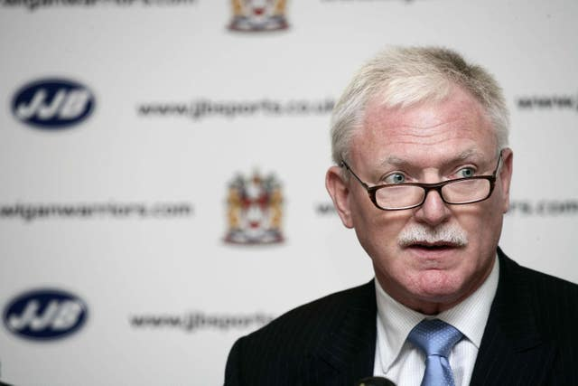 Ian Lenagan is chairman of Wigan Warriors