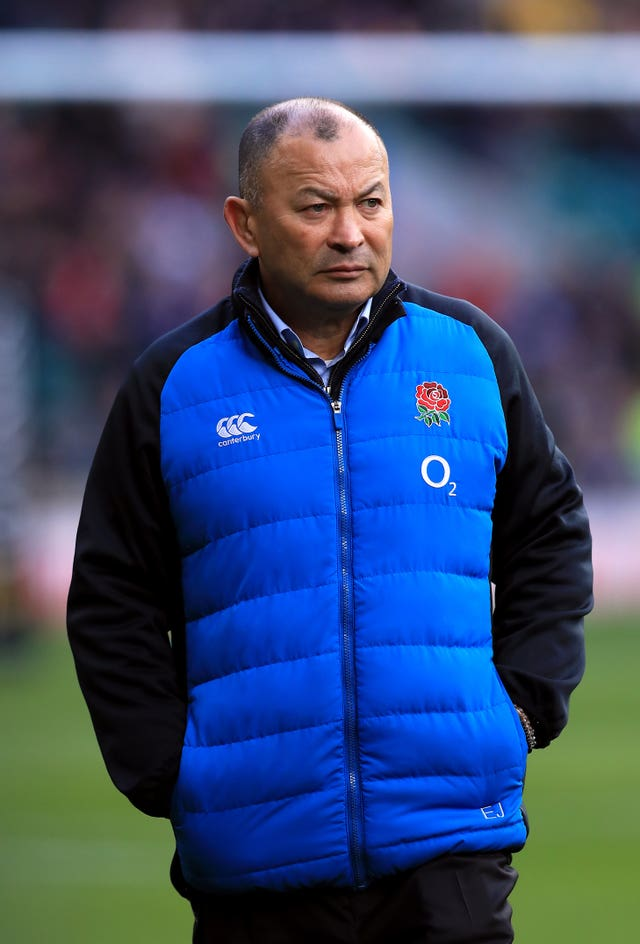 England head coach Eddie Jones had plenty to be happy about