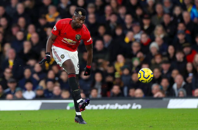 Paul Pogba has barely featured for Manchester United this season