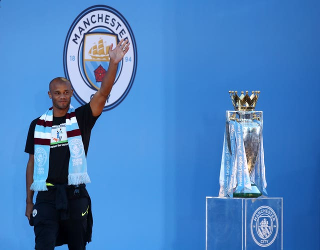 Vincent Kompany is no longer a Manchester City player
