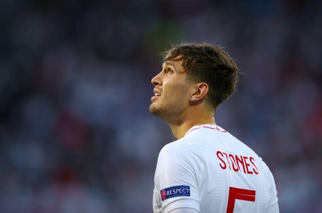 John Stones misses out through injury.