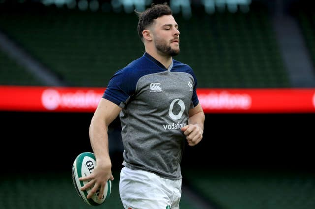 Ireland centre Robbie Henshaw will be unavailable against England