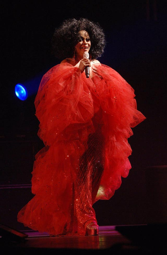 Diana Ross in concert – London